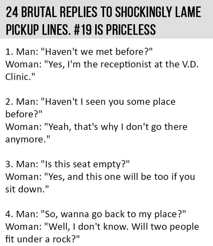 dating pick up lines for guys