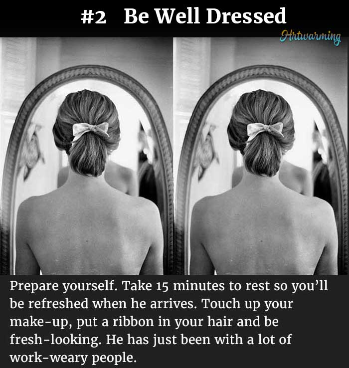 How To Prepare To Be A Good Wife