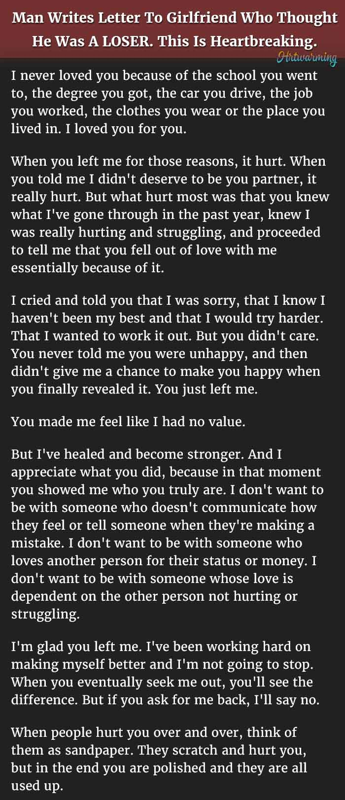 Letter to a man that hurt you