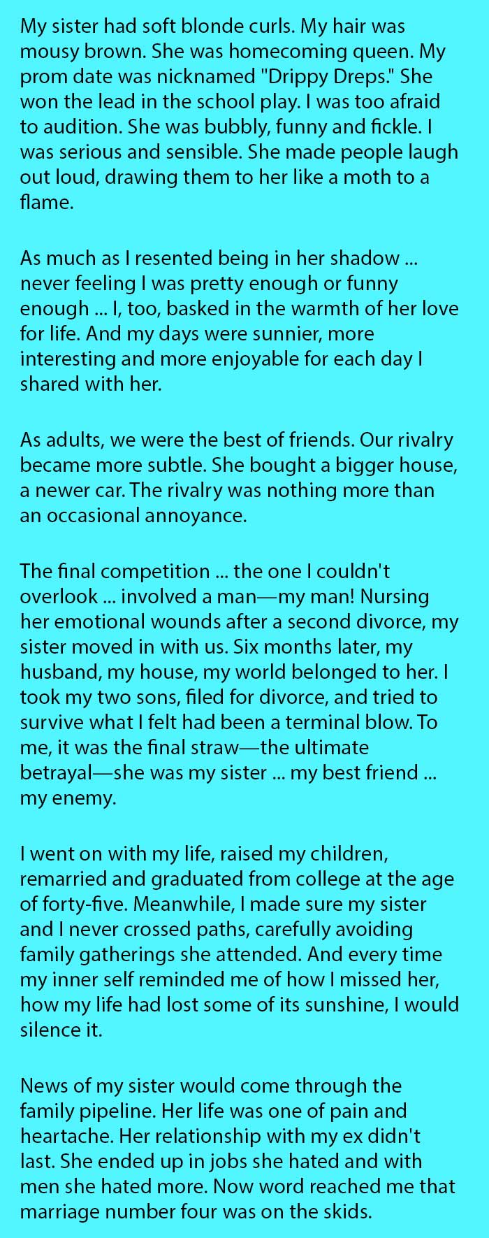 She Was Shocked When Her Husband Cheated On Her With Her Sister